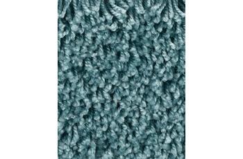 ilima Teppichboden Shaggy Hochflor CARLITA/ GREASE Mittelblau
