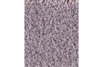 Hometrend Teppichboden Meterware Velours bedruckt Flieder