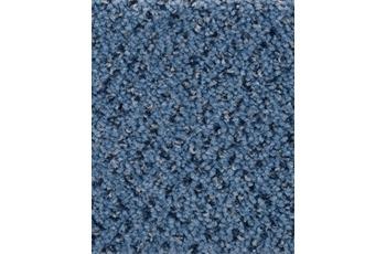 Hometrend BACCARA/ ALEXANDRA Teppichboden, Velours gemustert, blau