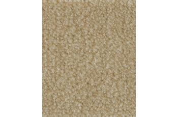 Hometrend FLIRT/ CABARET Teppichboden, Velours meliert, flachs