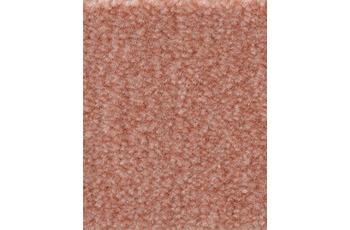 Hometrend Teppichboden Meterware Velours meliert Rosa