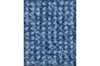 Hometrend MESA Teppichboden, Schlinge meliert, hellblau