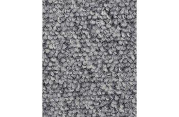 Hometrend ROPERO VR Teppichboden, Schlinge meliert silber/ grau