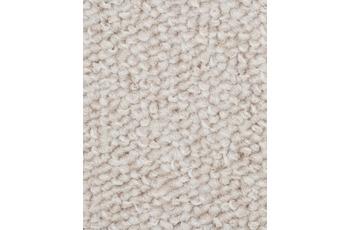Hometrend CAMA Teppichboden, Schlinge meliert, weiss