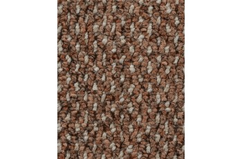 Hometrend Teppichboden Schlinge strukturiert rostbraun