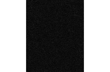 Hometrend COMODA Teppichboden, Uni-Velours, schwarz