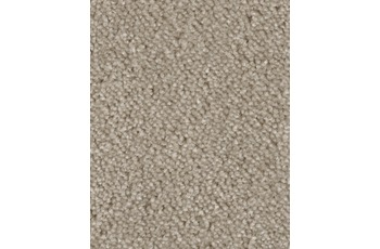 Hometrend AMBER Teppichboden, Velours meliert, beige/ grau
