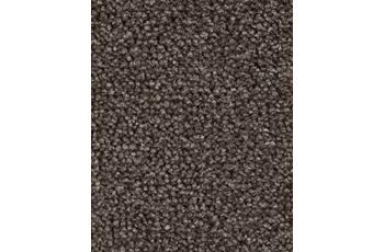 Hometrend AMBER Teppichboden, Velours meliert, dunkelbraun/ grau