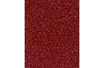 Hometrend AMBER Teppichboden, Velours meliert purpurrot