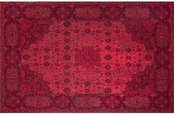 Kelii Vintage-Teppich Hawaii rot