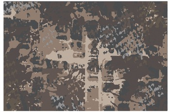JAB Anstoetz Teppich Characters Camouflage 090