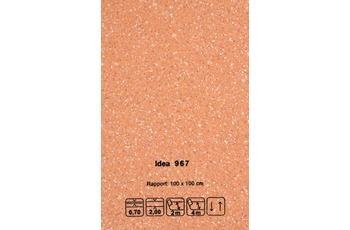 JOKA CV-Belag Idea - Farbe 967 orange /  terrakotta