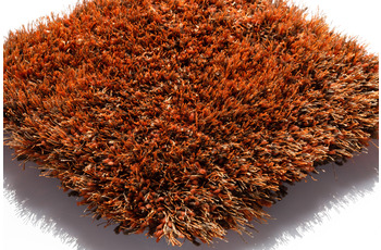 Kaiya Hochflor-Teppich Lago Mix Orange 63