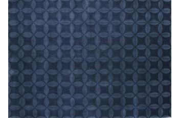 Nepal-Teppich Kangri A103 dunkelblau 170 cm x 240 cm