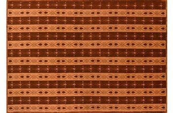 Nepal-Teppich Kangri Super A51 terra 170 cm x 240 cm