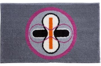 GRUND , Badteppich, KARIM RASHID Concept 01 196 grau-pink