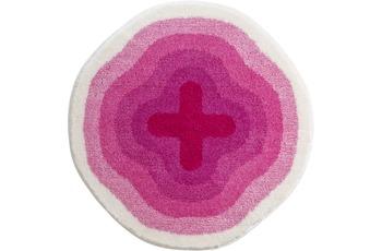 GRUND Badteppich KARIM RASHID Concept 03 196 pink 90 cm rund
