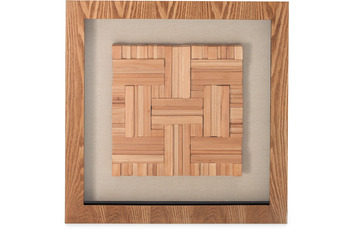 Kayoom Bilder Holzkunst Carré I 60cm x 60cm
