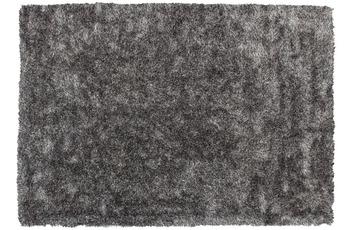 Kayoom Teppich Diamond 700 Grau /  Weiß 80 x 150 cm