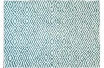 Kayoom Handwebteppich Aperitif 310 Türkis