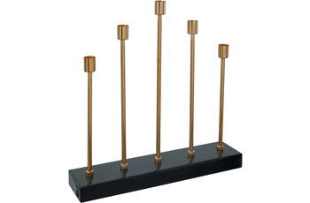 Kayoom Kerzenhalter Art Deco 525 Dunkelgrün /  Gold