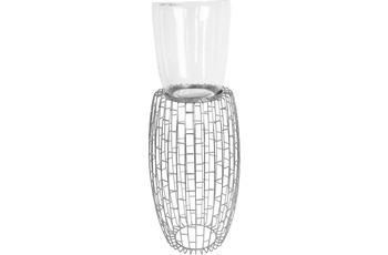 Kayoom Kerzenständer Malibu 825 Silber