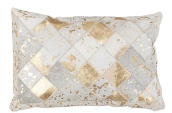 Kayoom Kissen Lavish Pillow 210 Elfenbein /  Gold