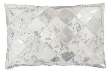 Kayoom Kissen Lavish Pillow 210 Grau /  Silber