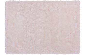 Kayoom Teppich Crown 110 Weiß /  Puderrosa Ø 160 cm RUND
