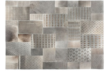 Kayoom Teppich Gleam 560 Grau /  Silber 120 x 170 cm