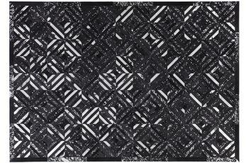 Kayoom Teppich Spark 410 Schwarz /  Silber
