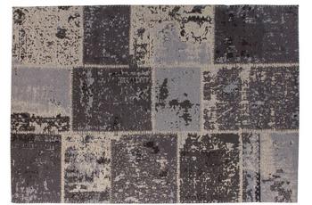 Kayoom Teppich Matrix 110 Schwarz /  Grau