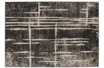 Kayoom Teppich Rohullah 3010 Grau /  Elfenbein