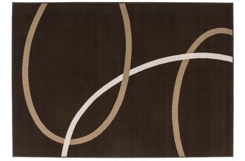 Kayoom Teppich Rohullah 4010 Mokka 190 x 280 cm
