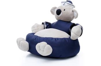 Kayoom Plüschsessel Koala 209 Weiß /  Blau