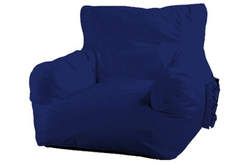 Kayoom Relaxsessel Big Fun Navy Blau