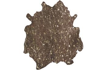 Kayoom Teppich Glam 110 Braun /  Gold