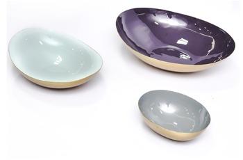 Kayoom Schüssel Yuna 3er-Set 410 Violett /  Mintgrün /  Grau