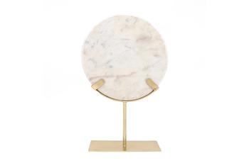 Kayoom Skulptur Ajnur 1087 Gold /  Weiß