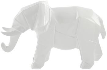 Kayoom Skulptur Elephant 120 Weiß