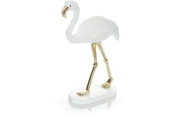 Kayoom Skulptur Flamingo 110 Weiß
