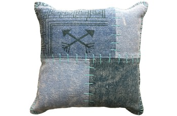 Kayoom Sofakissen Lyrical Pillow 210 Multi /  Blau
