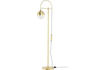Kayoom Stehlampe Lavina 125 Weiß /  Gold