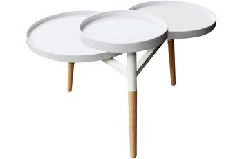 Kayoom Tabletttisch Butler 110 Weiß