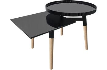 Kayoom Tabletttisch Butler 210 Schwarz