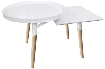 Kayoom Tabletttisch Butler 210 Weiß