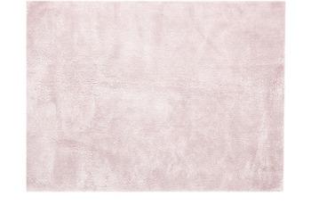 Kayoom Hochflor-Teppich Bali 110 Puderrosa 120cm x 170cm