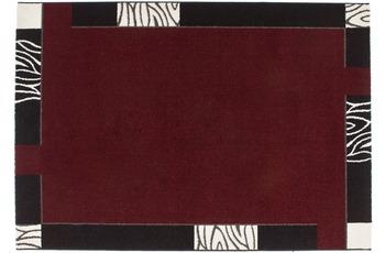 Kayoom Teppich Bern Rot 60cm x 110cm