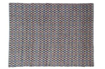 Kayoom Jute-Teppich Chess 110 Natur /  Pink