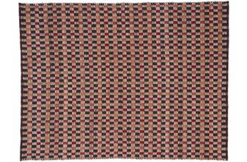Kayoom Jute-Teppich Chess 110 Natur /  Rot
